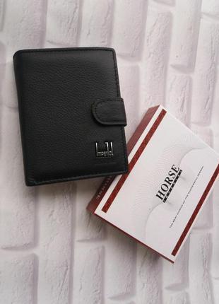 Мужской кошелек кожаный шкіряний гаманець портмоне кожаное