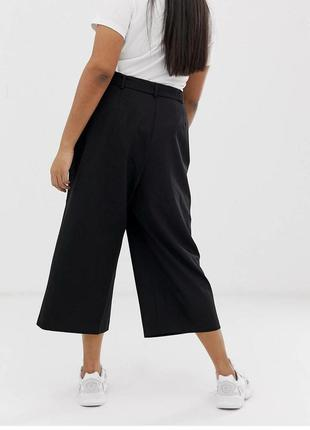 Летние брюки-кюлоты primark из струящейся ткани с пуговицами