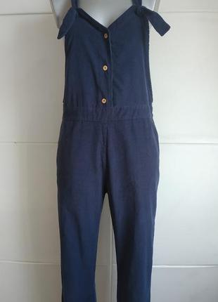 Стильный комбинезон с брюками stradivarius с карманами