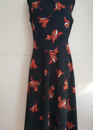 Красивое платье-миди principles с принтом  красивых цветов