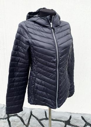 Чёрная ультралайт куртка
