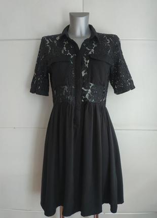 Стильное платье vero moda с красивым кружевом