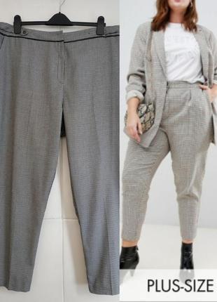 Стильные брюки tu модного кроя с принтом гусиные лапки