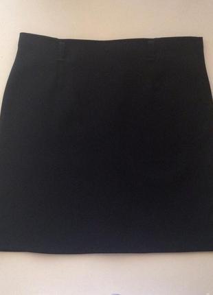 Короткая черная юбка размер 42/44