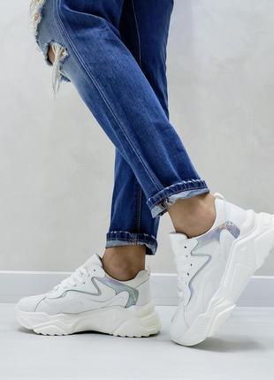Кроссовки белые  білі жіночі кросівки кеды кеди