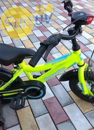 """Детский велосипед Dynastar Intense N-200 12 """" с ручкой , дитячий"""