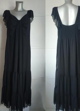 Очаровательное платье-сарафан simply be с воланами.