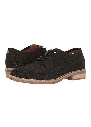Tommy hilfiger ●25-25,5см● Перфорированые кожаные туфли. Оригинал