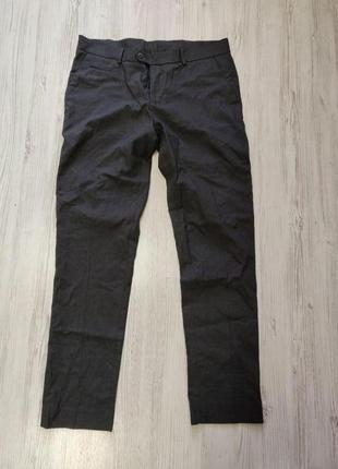 🎈нас 10 тысяч🎈happy sale🎁  мужские темно серые брюки