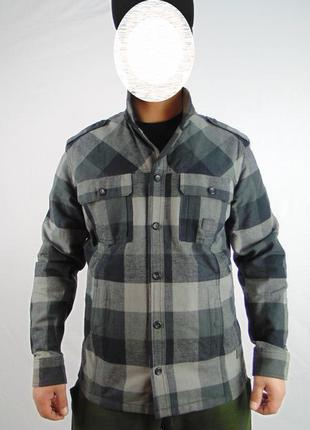 Куртка в клетку ,м размер, 220грн