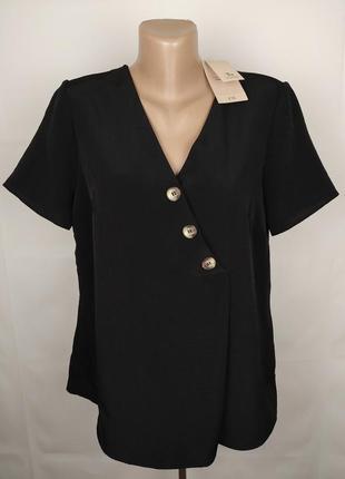Блуза стильная новая с пуговицами tu uk 16/44/xl