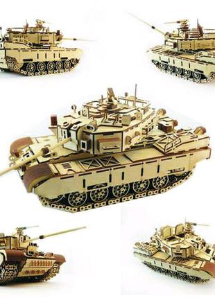 Конструктор танк Кайман 3D