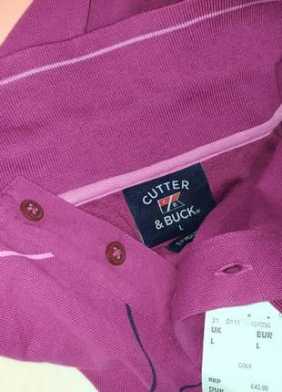 Тенниска, поло бренд cutter & buck(43.99евро на бирке)