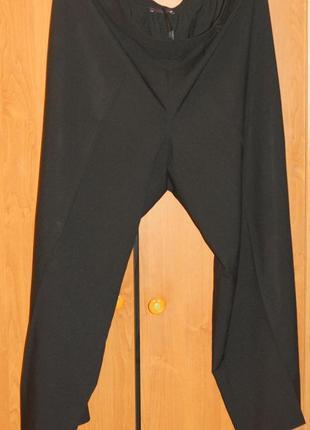 Свободные  брюки с поясом на резинке
