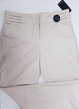 Новые классические брюки бежевые штаны со стрелками orsay 16