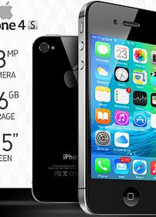 """Оригинальный Apple iPhone 4S 3.5"""" 16 32 64ГБ NEVERLOK"""