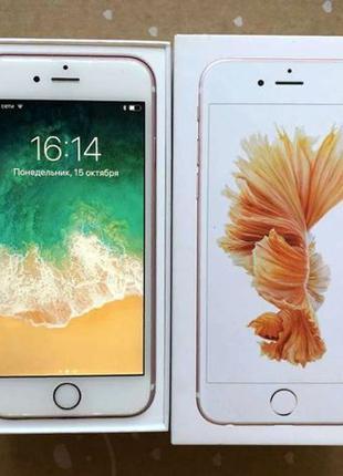 Apple iPhone 6S 16Gb Rose Gold Neverlock запечатаный