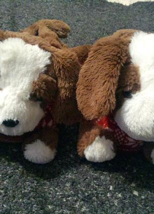 New look тапочки-собачки игрушки мягкие