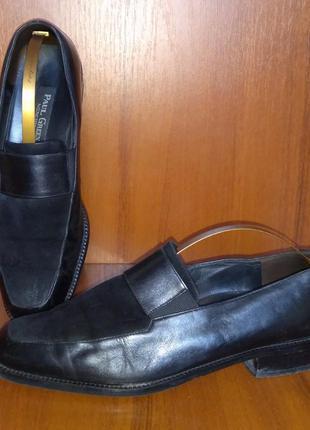 Paul green туфли лоферы размер 39-40 натуральная кожа