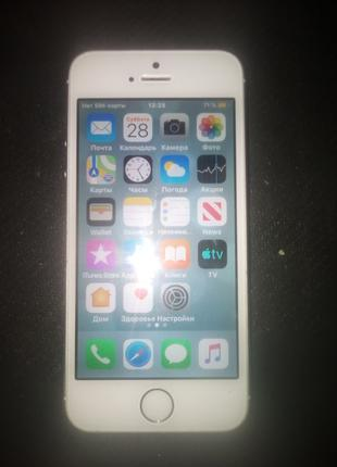Iphone 5s 64Gb silver.