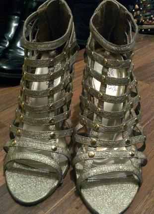 Босоножки туфли сандали римские гладиаторы new look 24-24.5 см
