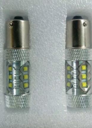 Комплект авто ламп LED 1156 BA15S P21W