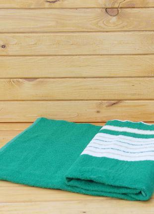 Полотенце махровое для похода на пляж 90х150 см унисекс
