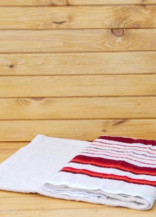 Полотенце махровое на пляж/баню/сауну/басейн 90х150 см унисекс