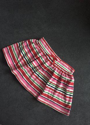 Полосатая юбочка для девочки 18-24 мес crazy8