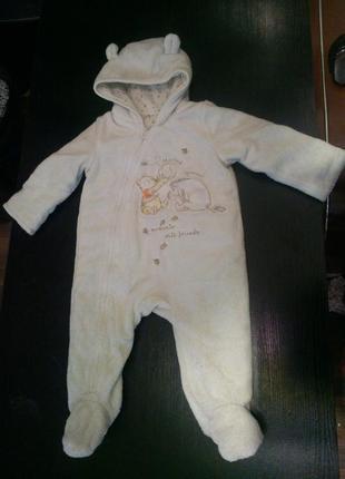 Комбинезон костюм комбез винни человечек пух disney baby