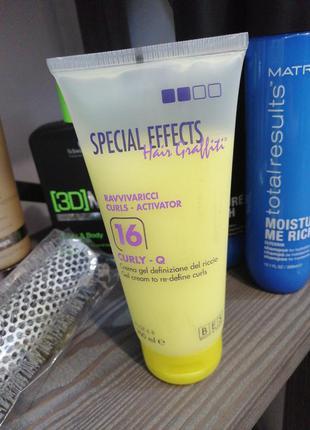 Профессиональный крем-гель для стаилинга кудрявого волоса #16