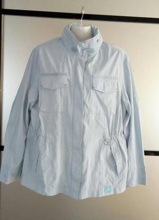 Голубая ветровка куртка.  36-38, м-л tcm tchibo