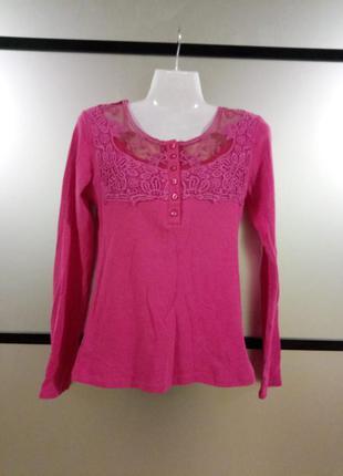 Акция 2=3.яркий розовый малиновый джемпер кофта. сочный джемпе...