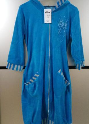 Женский махровый халат,в наличии расцветки и размеры