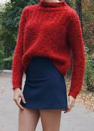 Акция 2=3. сочный красный гольф травка. красный свитер травка ...
