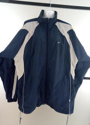 Мужская оригинальная куртка ветровка nike. спортивная ветровка...
