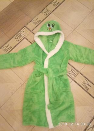Детский махровый халат зайчик с капюшоном. есть размеры и цвет...