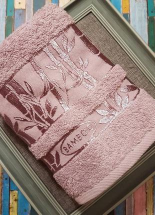 Махровое хлопковое полотенце. бамбуковое полотенце 50*90, турц...