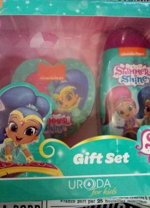 Детский косметический набор shimmer shine для девочки. подарок...