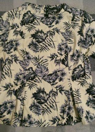 Atmosphere блуза кофта с баской