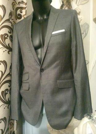 Burton menswear london slim пиджак жакет