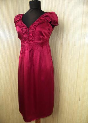 Платье сарафан натуральный шелк трансформер Culture