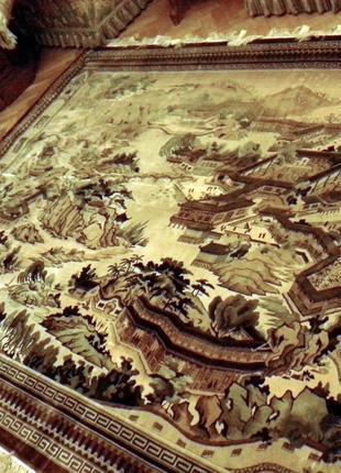 Шелковый ковер ручной работы , Китай