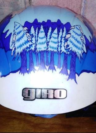 Зимний детский шлем giro