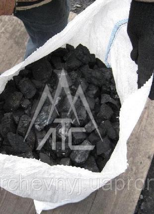 Уголь каменный марки Д в мешках 25 кг в Харькове