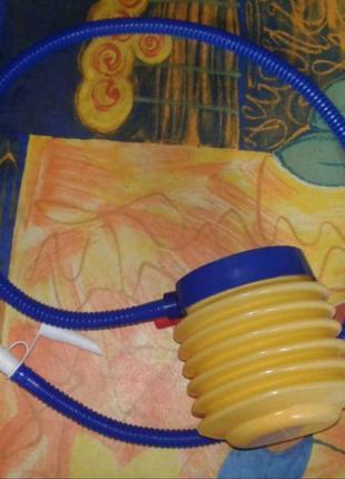 Детский насос для надувных игрушек