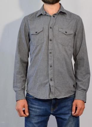 2605\70 серая рубашка cedar wood state m
