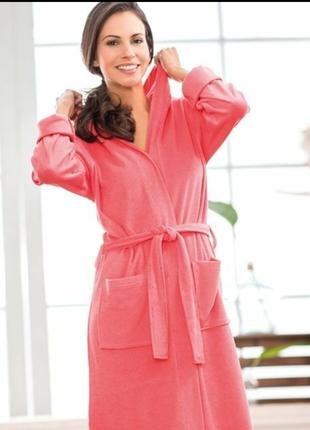 Халат miomare мягкий лёгкий из микрофибры, домашняя одежда