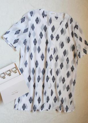 Нежная блузочка на пуговках, размер xxl