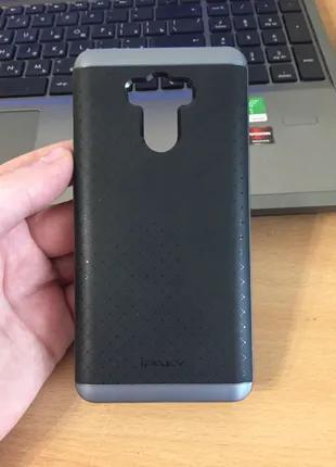 Чехол накладка для Xiaomi Redmi 4 prime пластик+силикон